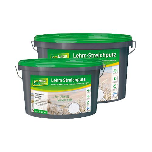 proNatur Lehm-Streichputz Innen Wand & Decke 7kg