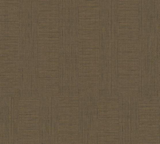 Non-Woven Wallpaper Strokes Stripes brown 38026-2