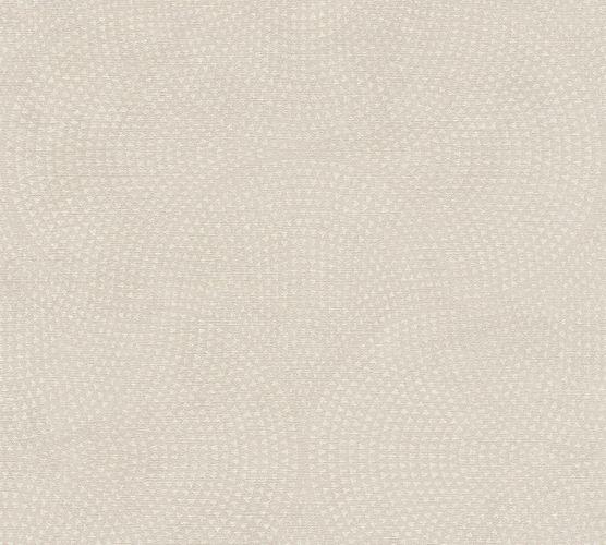 Non-Woven Wallpaper Art Deco Graphic cream 38027-2