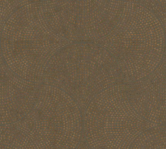 Non-Woven Wallpaper Art Deco Graphic brown 38027-3