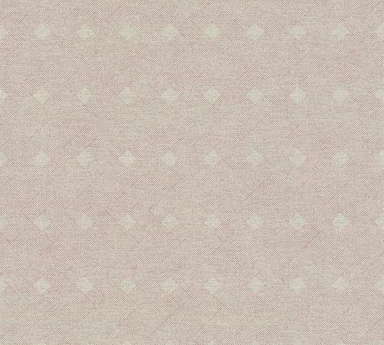 Non-Woven Wallpaper Graphic Strokes beige red 38029-2