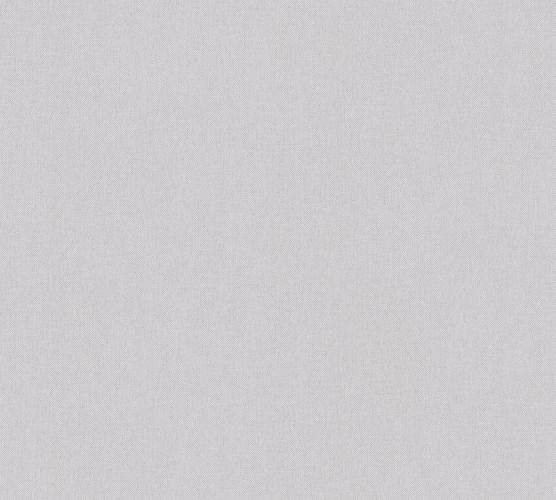 Non-Woven Wallpaper Plain Textile Look grey 37702-2