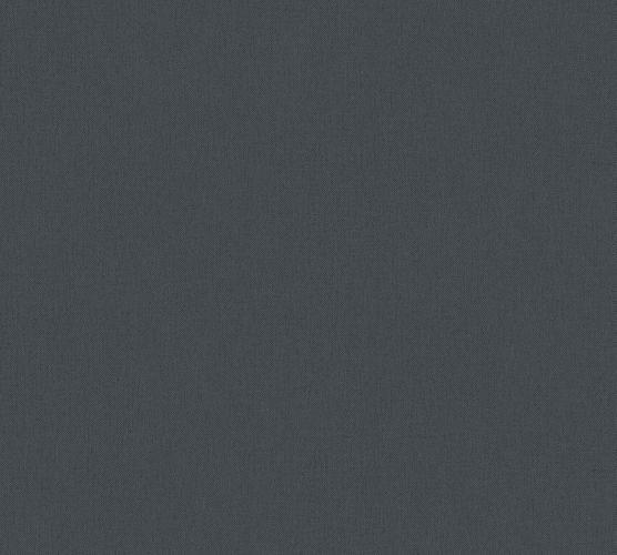 Non-Woven Wallpaper Plain Textile Look black 37748-3