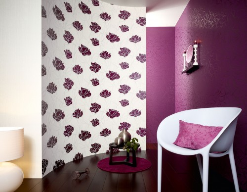 Key to Fairyland wallpaper retro non-woven wallpaper 1320-24 violet online kaufen
