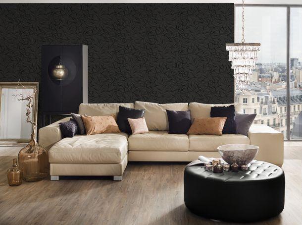 Key to Fairyland wallpaper retro non-woven wallpaper 1320-62 black online kaufen
