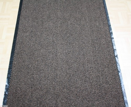 Cleaner runner foot mat floor mat 90 cm / 35.43 '' brown