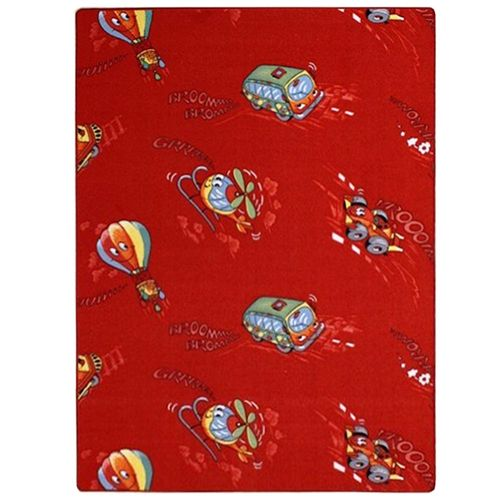 Carpet / rug kids Carpet / rug racing car & Co 133 cm x 200 cm / 52.36 '' x 78.74 '' red online kaufen