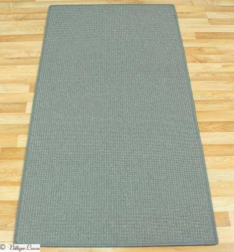 Teppich grau Sisal Optik Baltrum 80x150 cm