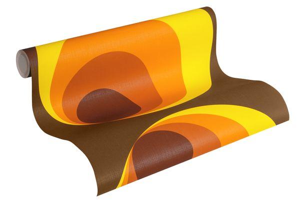 Tapete AS Retro Deluxe Kreise braun rot Orange 7013-12 online kaufen