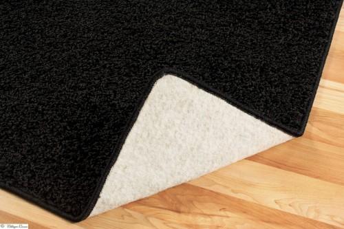 Teppich Hochflor schwarz Rhodos 133x190 B-Qualität online kaufen
