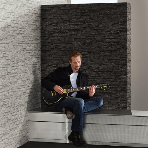 Wallpaper natural stone bricks grey AS Creation 7071-16 online kaufen