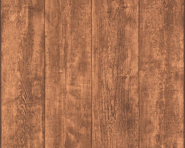 Wallpaper wooden style board brown AS Creation 7088-23