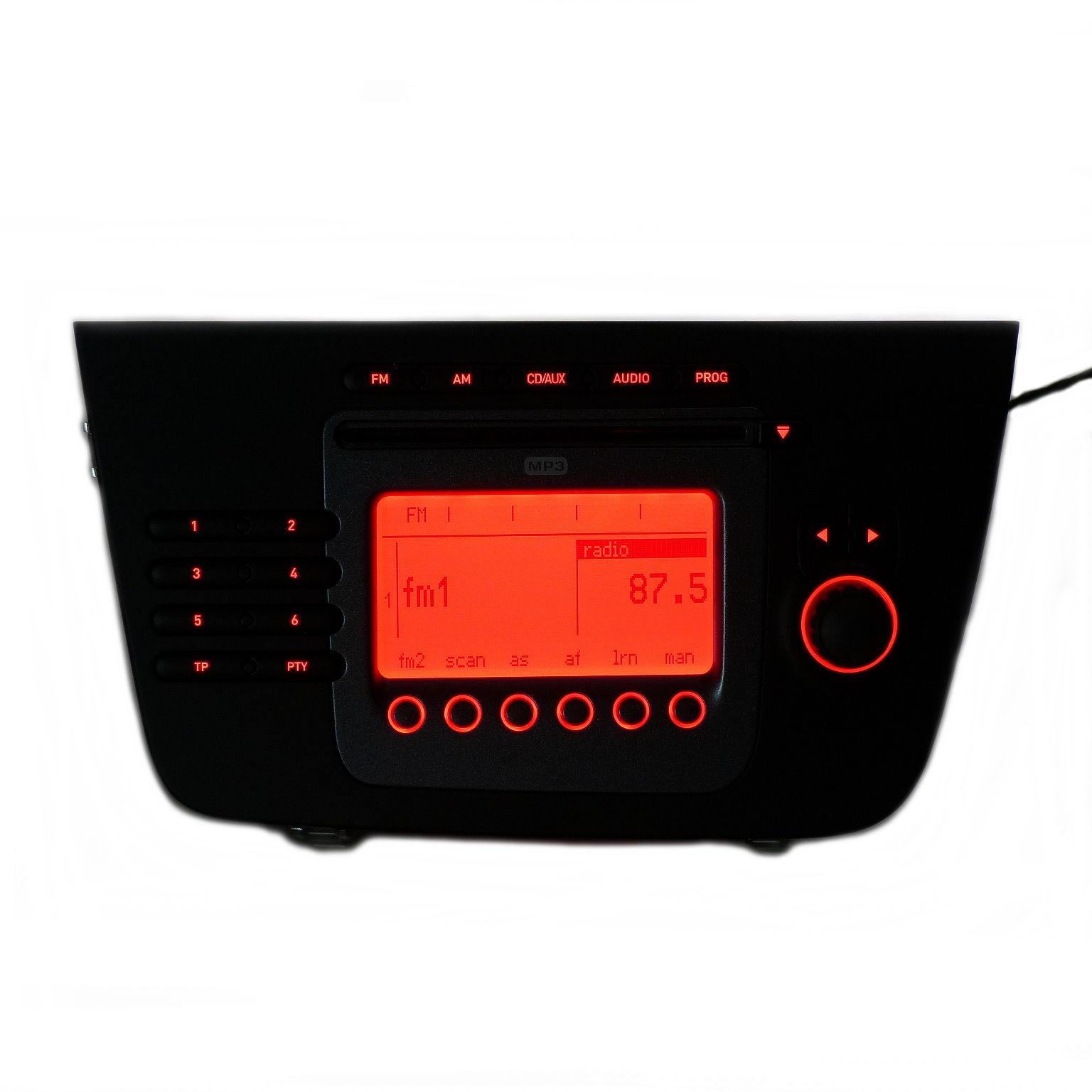 original cd radio mp3 autoradio cd tuner 5p1035186b f r. Black Bedroom Furniture Sets. Home Design Ideas