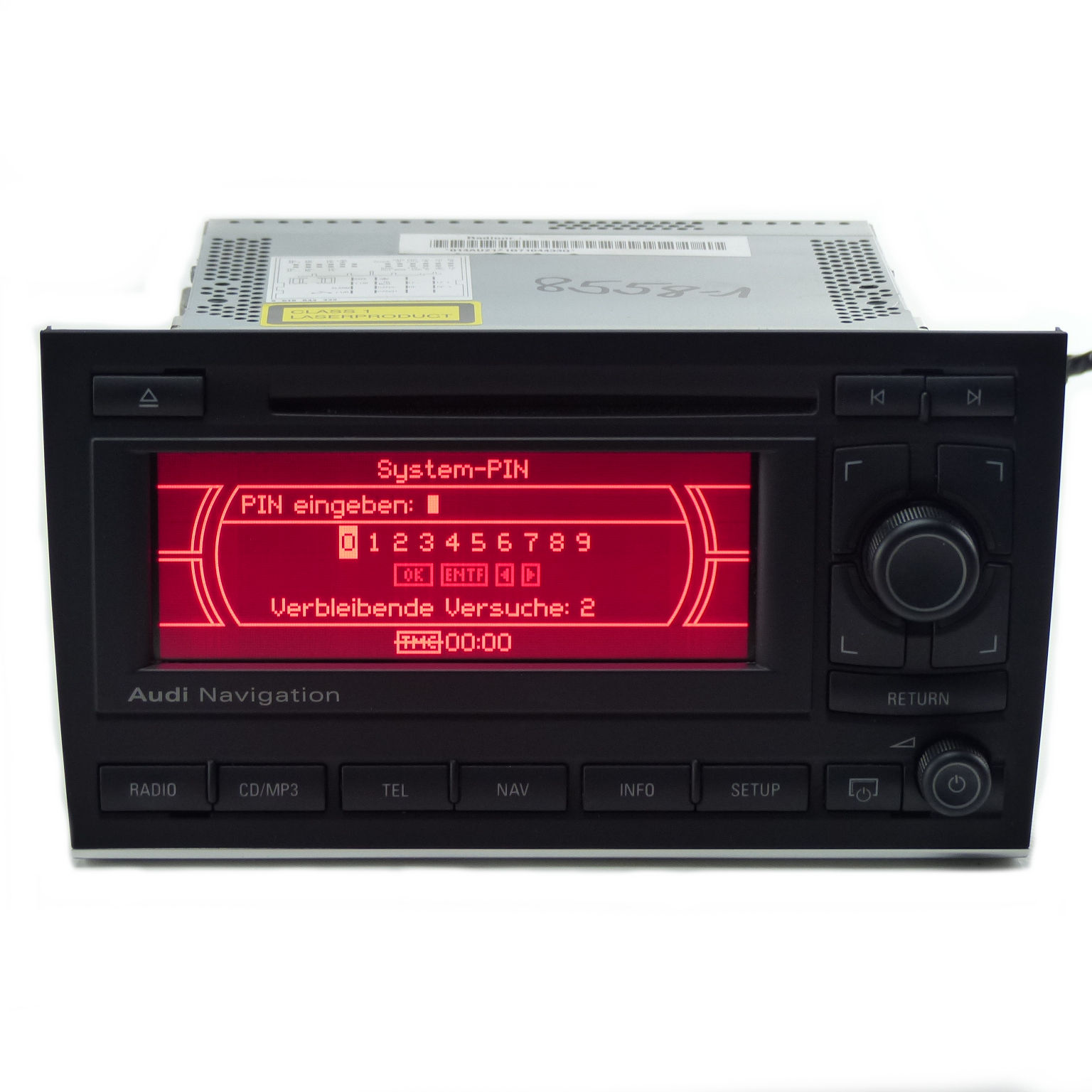 Navigation System Bns 5 0 Car Stereo Radio 8e0035192s With