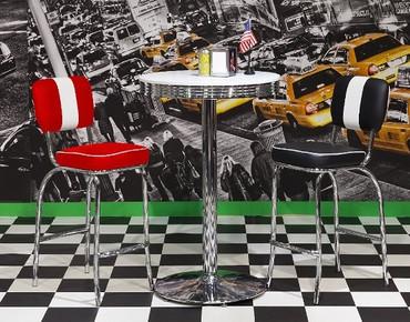 American Diner Bistro Set