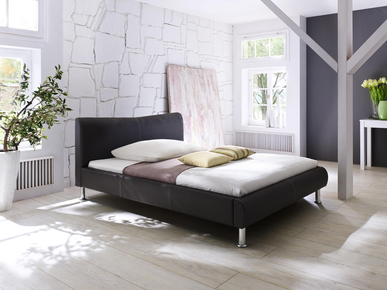 Polsterbett River Braun, 5 Größen Möbel Schlafzimmer Polsterbetten