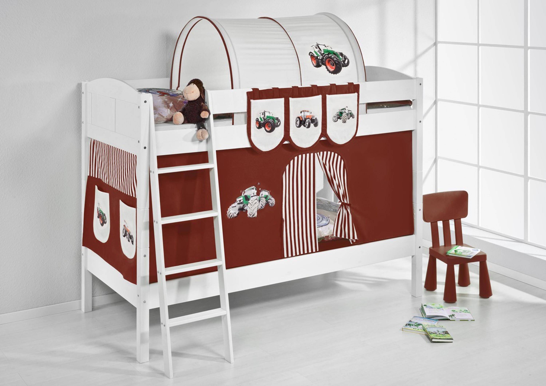 Etagenbett Unten Baby : Dreier etagenbett nico weiß möbel zeit