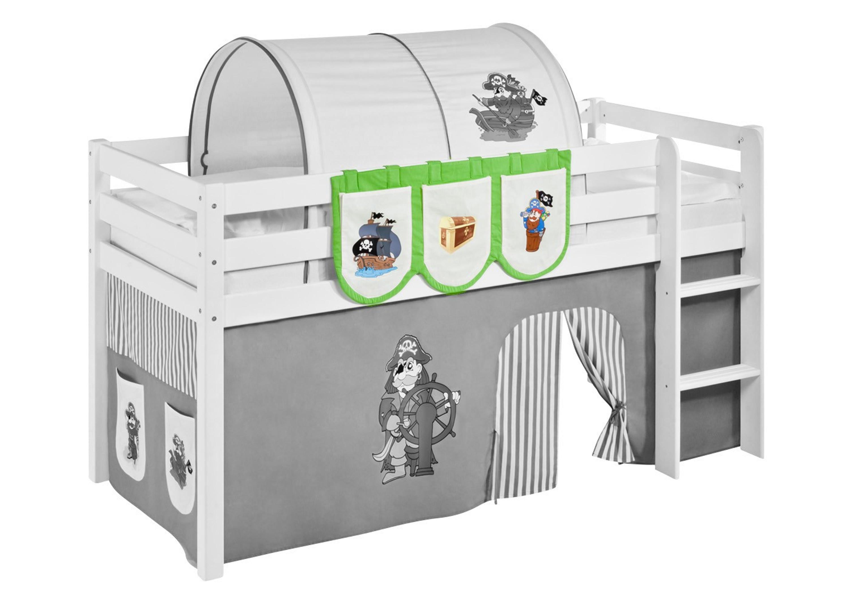 h ngetaschen pirat gr n beige f r hochbett spielbett und etagenbett m bel baby. Black Bedroom Furniture Sets. Home Design Ideas