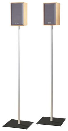 2x Surroundstands Sulivo Maxi, Schwarzglas 107 cm – Bild 2
