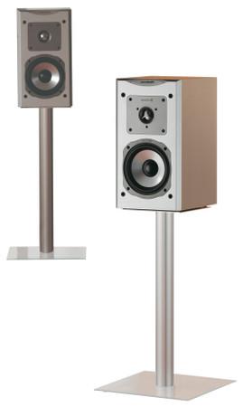 2x Lautsprecherstands Boxero Mini Klarglas 51 cm – Bild 2