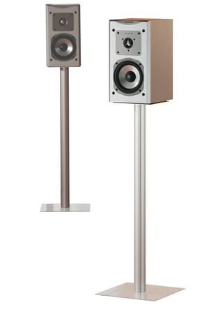 2x Lautsprecherstands Boxero Maxi Klarglas 71 cm – Bild 2
