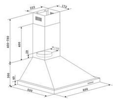 Küchenzeile Santorin inkl. Elektrogeräte und Ceranfeld, 270 cm – Bild 6