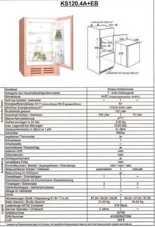 Montierte Küchenzeile Litra Weiss inkl. Elektrogeräte und Kochplatten, 270 cm – Bild 7