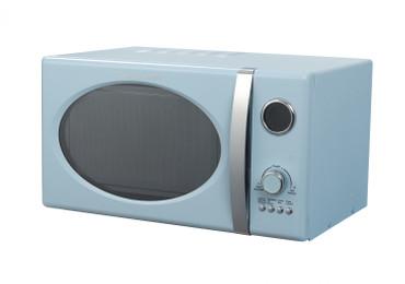 Retro-Mikrowelle MW823G SB Hellblau – Bild 1