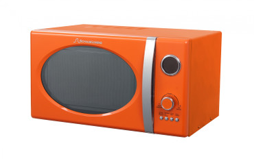 Retro-Mikrowelle MW823G O Orange – Bild 1