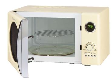 Retro-Mikrowelle MW823G SC Creme – Bild 2