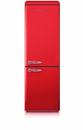 Kühl-Gefrierkombination 190 cm, A++, SL300B FR Glänzend Rot – Bild 1