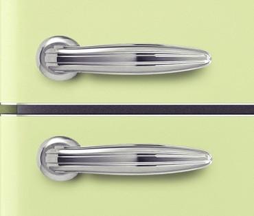 Kühl-Gefrierkombination 190 cm, A++, SL300B SG Hellgrün glänzend – Bild 4