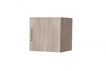 Aufsatz und Hängeschrank TOM mit 1 Tür 40 cm Sonoma Eiche Dekor