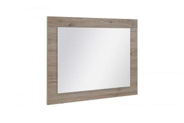 Dielen Set Lake III best. aus: Garderobenschrank, Wandspiegel, Schuhschrank und Garderobenpaneel Korpus und Front in Eiche Sonoma Dekor Melamin – Bild 5