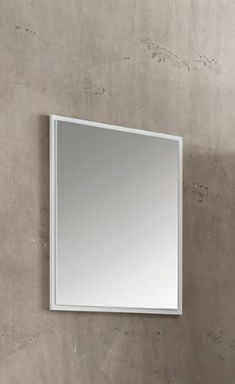 Wandspiegel Weiß Melamin Dekor Accessoires Spiegel