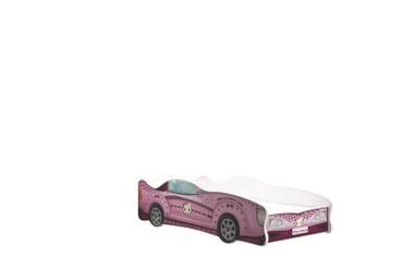 Autobett Turbo Kids Car 80x160 cm inkl. Lattenrost u. Matratze – Bild 2