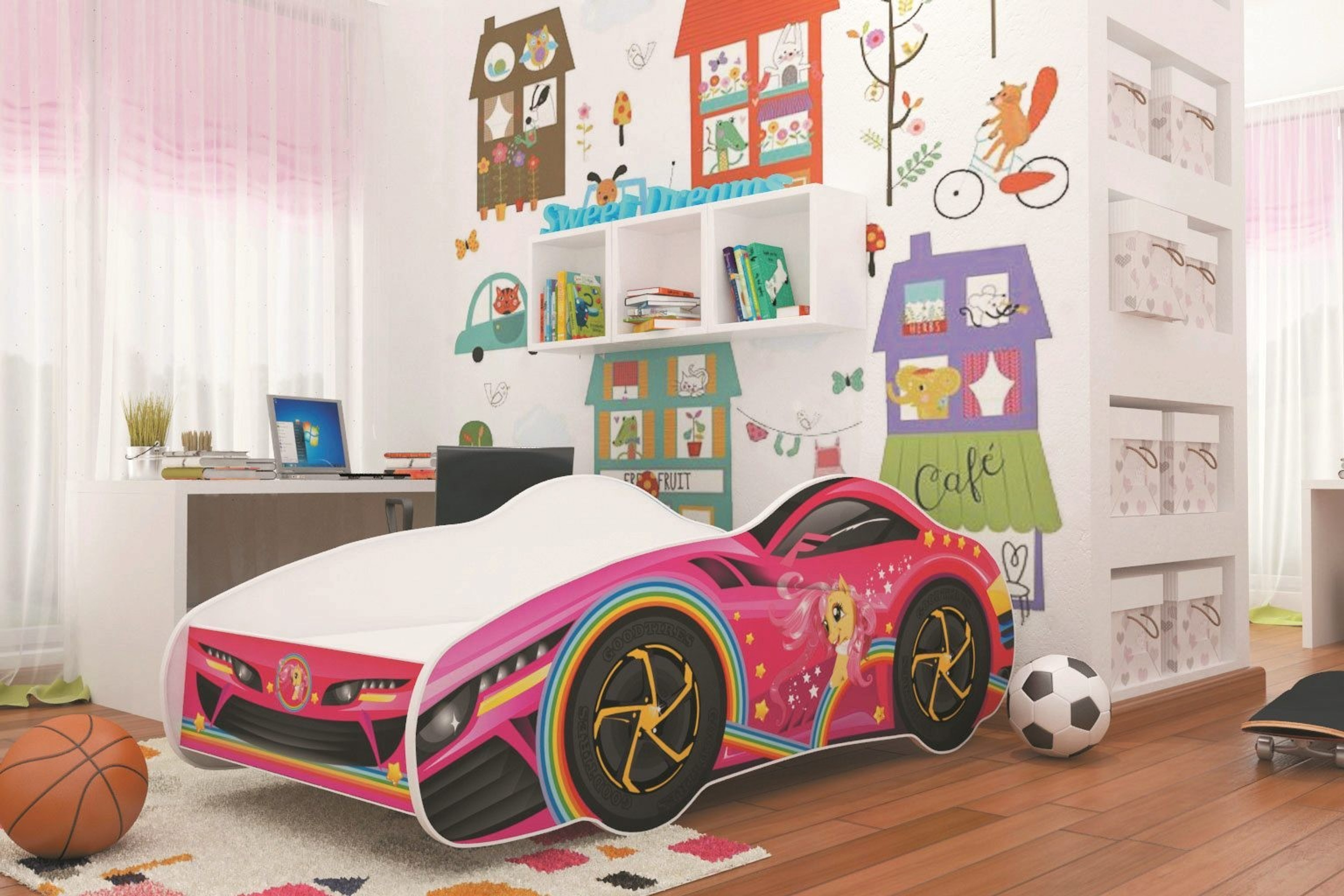 autobett car kids car 70x140 cm inkl lattenrost u matratze m bel baby kinderzimmer kinder. Black Bedroom Furniture Sets. Home Design Ideas