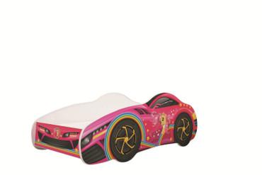 Autobett CAR Kids Car 70x140 cm inkl. Lattenrost u. Matratze – Bild 2