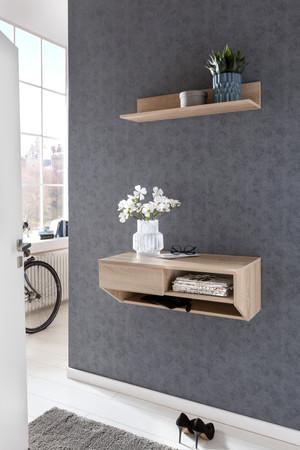 Wand-Konsole/-Office mit Regal, in drei Farben – Bild 6