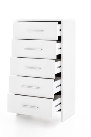 Schubladenschrank Bahia, 5 Schubladen, zwei Farbvarianten – Bild 1