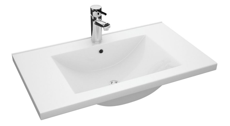 Badezimmer set adagio 3 teilig inkl keramik waschtisch for Badezimmer waschtisch set