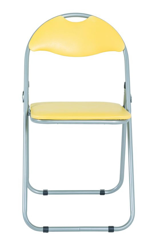 Klappstuhl Gelb 6er Set Möbel Esszimmer Stühle