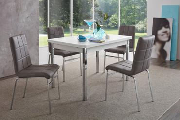 Tischgruppe Hermes 2 / Linda Grau