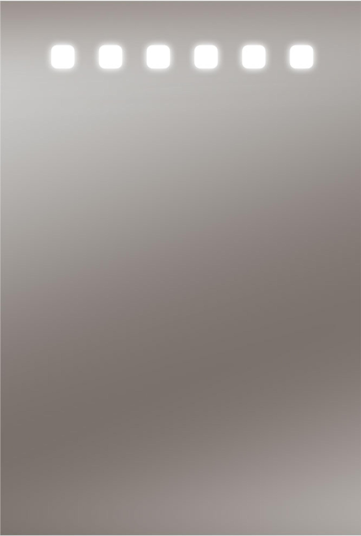 led lichtspiegel barbosa 40 x 60 cm accessoires spiegel. Black Bedroom Furniture Sets. Home Design Ideas
