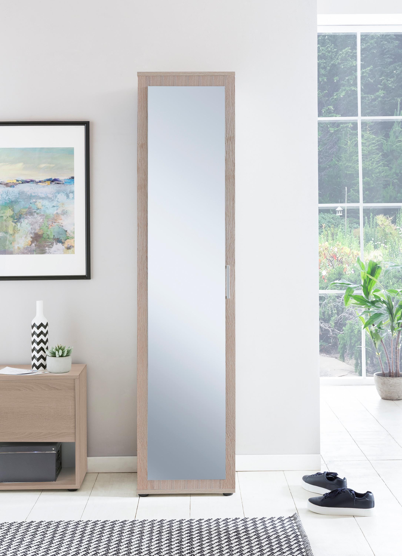 mehrzweckschrank mit spiegel m bel schlafzimmer kleiderschr nke. Black Bedroom Furniture Sets. Home Design Ideas