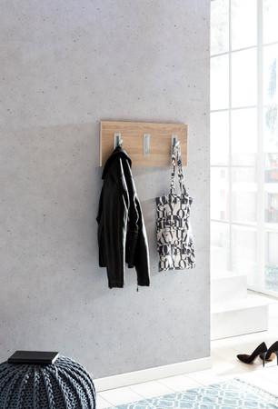 Garderobenpaneel quer, Sonoma Eiche – Bild 1