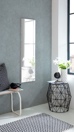 Spiegel ohne Rand, 33 x 125cm – Bild 1