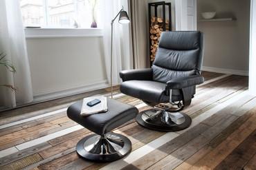 Relaxset Cedar, inkl. Hocker – Bild 1