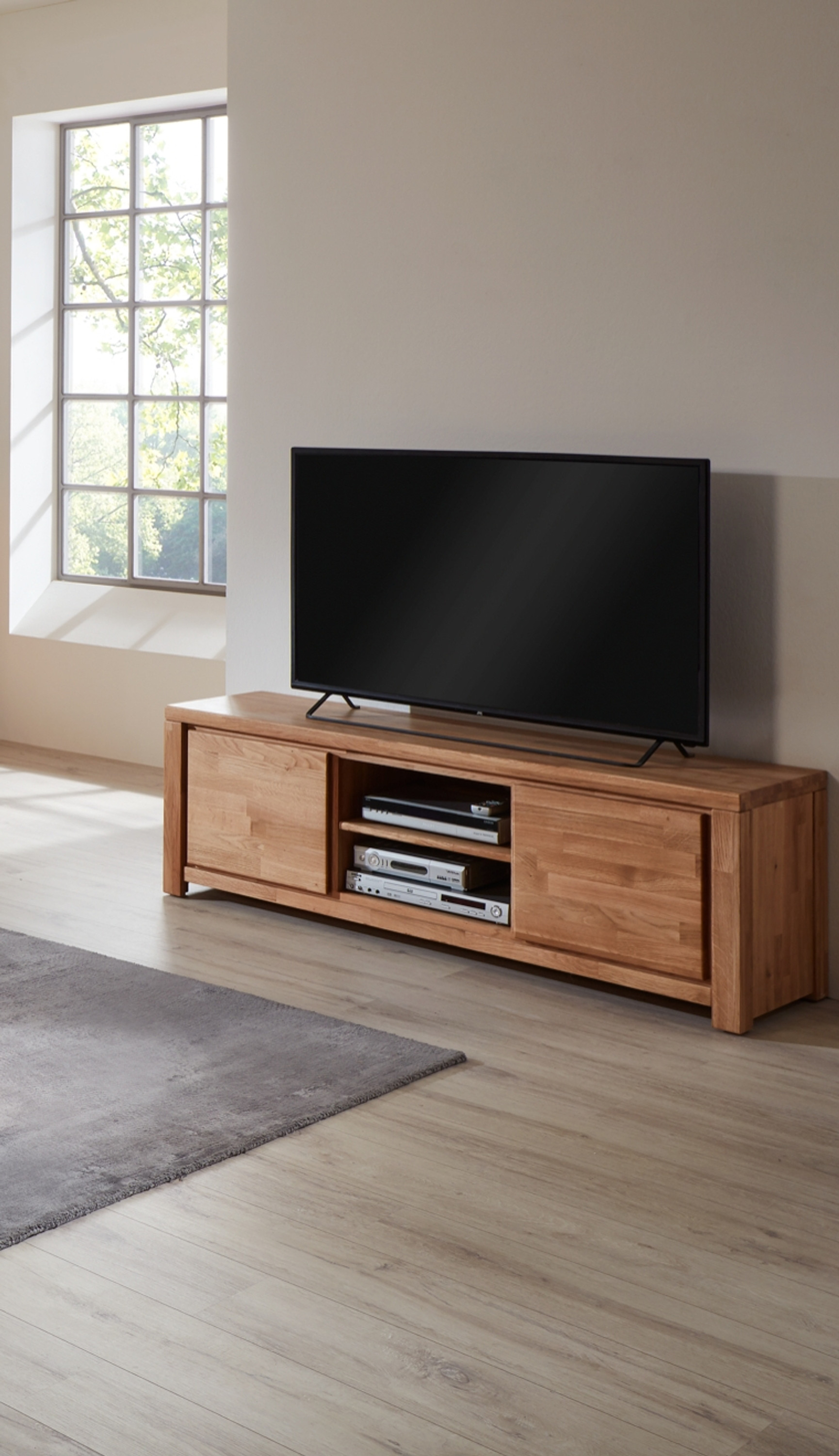 tv lowboard marco m bel wohnzimmer lowboards. Black Bedroom Furniture Sets. Home Design Ideas