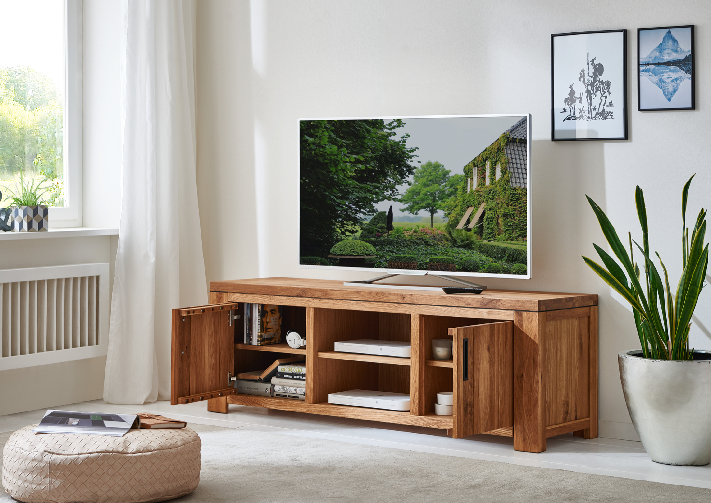 tv lowboard amigos m bel wohnzimmer lowboards. Black Bedroom Furniture Sets. Home Design Ideas